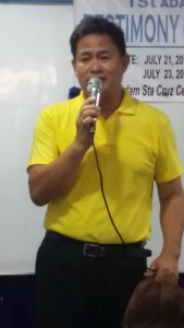Mr. Henrito Buyson has High Blood and Diabetes. He also experienced Mild Stroke 3 times.